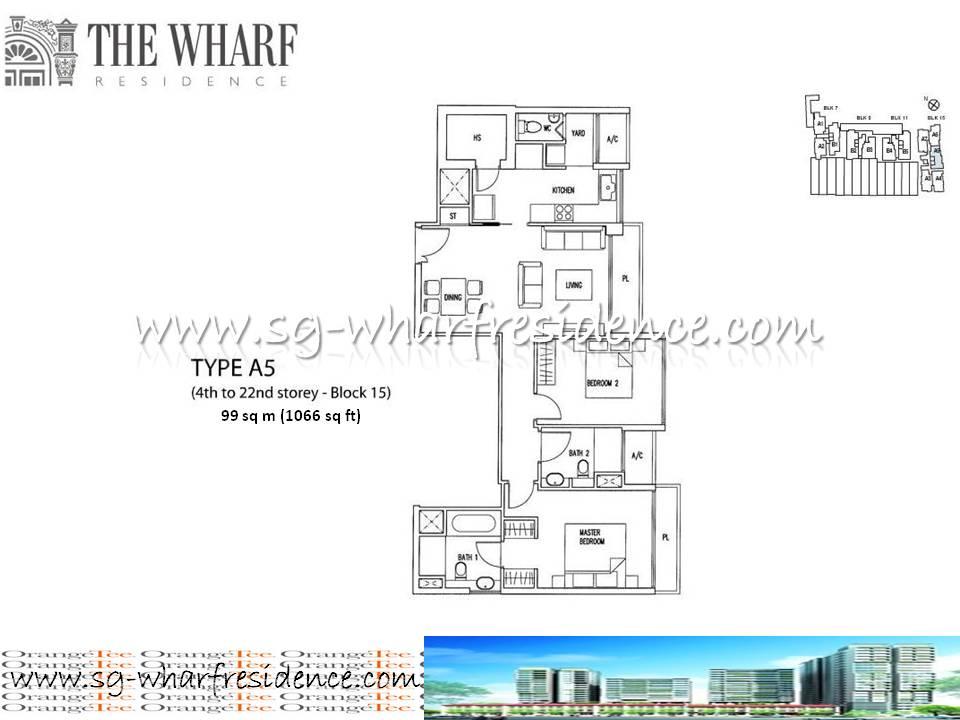 Floor Plans Wharf Residence Singapore Condo
